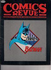 Comics Revue#45 1990 BATMAN COVER, STRIP REPRINTS, PHANTOM,LATIGO,FLASH GORDON