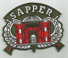 United States ARMY  SAPPER MILITARY PATCH - COMBAT ENGINEER
