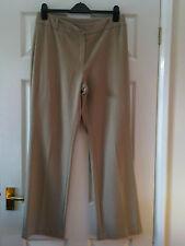 Next beige Trousers - size 14 Regular