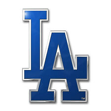 Los Angeles Dodgers Die-Cut Metal Auto Emblem [NEW] LA MLB Car Decal Sticker CDG