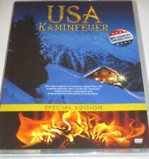 USA Kaminfeuer - DVD/NEU/OVP/Weihnachten/Country Musik