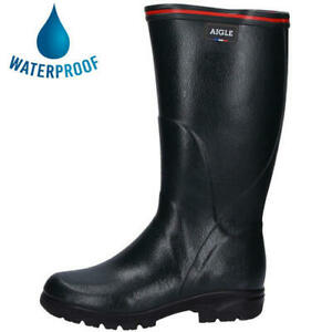 Aigle Tancar Pro ISO Mens Womens Neoprene Wide Fit Wellies Wellington Boots