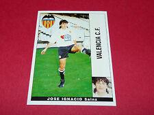 JOSE IGNACIO SAINZ VALENCIA CF PANINI LIGA 95-96 ESPANA 1995-1996 FOOTBALL