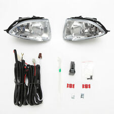 Clear Lens Fog Lights For 2004 2005 Honda Civic Coupe Sedan 2/4Dr w/Switch Bulbs