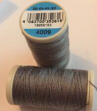 Coats duet fil à coudre 100% polyester cordonnet 30m - 4009