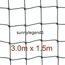 "Scrog Net 3.0m x 1.5m     50mm  2"" Mesh Hydroponics Grow Tent Plant Support"