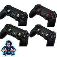 2 x Skull FPS Thumb Stick Cover Grip Caps For Sony PS4 + PS3 Controller by EGP©