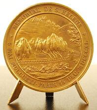 Médaille Napoléon Bonaparte Mémorial de Saint Hélène 1840 sc A Bovy medal