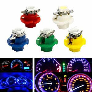 50Pcs Car T5 B8.4D Indicator Gauge Cluster Lamp Dashboard Light Bulb Decoration