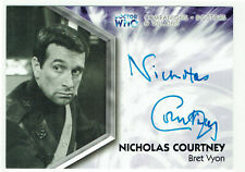 Doctor Who Trilogy Autograph Card DWT-A6 Nicholas Courtney as Bret Vyon