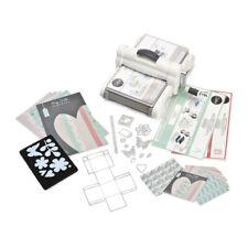 SIZZIX Big Shot PLUS (A4) Starter Kit, Stanz und-Prägemaschine mit Zubehör/ Whit