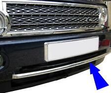 chrome 2010 facelift front bumper strip Range Rover L322 2003 conversion upgrade