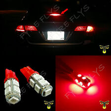 2x 3rd brake light red LED high mount upper center stop bulb lamp third R1x2