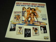 SPICE GIRLS Quality You Can See And Hear 1998 PROMO DISPLAY AD mint condition