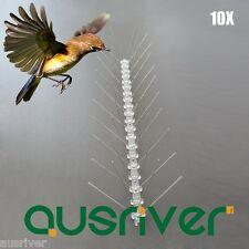 10X 50cm Bird Spike Pest Pigeon Gulls Control Deterrent 304 Stainless Steel 5M