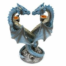 Dragon Heart Candlestick 23cm High Anne Stokes Gothic Candle Holder Nemesis Now