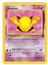 Pokemon Team Rocket Drowzee Common 48/82 - NearMint