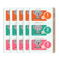 5 X 3-Step Koala Nose Clear Solution Deep Cleansing Pore Strips, Nose Strip Mask