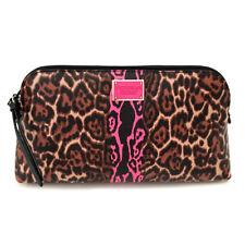 NEW Genuine VICTORIA'S SECRET Cheetah Makeup Beauty Bag (Cosmetics Case) Gift