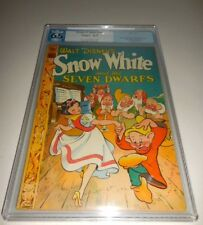 1944 Dell Four Color FC #49 Snow White and the Seven Dwarfs PGX 6.5 Fine+