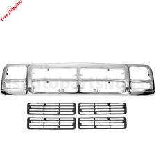 New Grille For DODGE D150 D250 1991-93 Base Extended Cab Pickup 2-Door Ch1200137