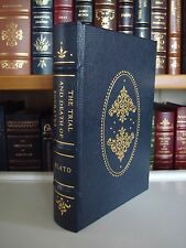 TRIAL & DEATH OF SOCRATES Plato Gryphon Legal Classics Leather