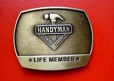 1996 Vintage Handyman Club of America Life Member Buckle