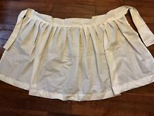 Colonial Civil War SCA 18th Century 1700s 1600s 1800s Muslin  Williamsburg Apron