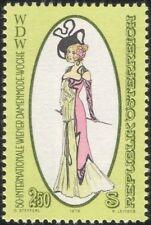 Austria 1979 Clothes/Costume/Dress/Fashion Week/Art/Drawing/Design 1v (at1068a)