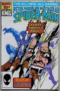 Spectacular Spider-Man #119 Vol 1 - Marvel Comics - Peter David - Rich Buckler