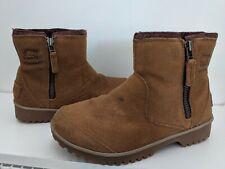 Sorel Women's NL2189 Meadow Brown Suede Waterproof Boots Sz 8