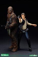 Star Wars Han Solo and Chewbacca ARTFX+ 2 pack Statues - SW88 Kotobukiya