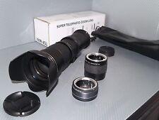 Canon EOS DIGITAL fit 420 800mm 1600mm 2400mm zoom lens 1200D 1300D 100D 700D ++
