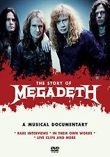 MEGADETH New Sealed LIVE PERFORMANCES, INTERVIEWS & MORE DVD