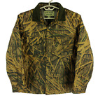 CC Filson x Mossy Oak Insulated Jac Shirt Shadow Grass Camo Mens Small 20073428