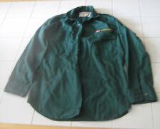 Scouts Canada Green Long Sleeved Scout Uniform Shirt- Size Boy's 12-12.5
