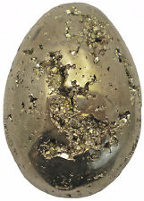 ** Iron Pyrite Egg Cluster - Fool's Gold Sample - 22.4 oz - PYR086EGG