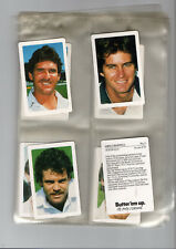 trade cards cricketers cricket butter em up full set