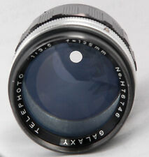SMOOTH BOKEH GALAXY 135MM F3.5 T2 PORTRAIT lens fit CANON NIKON PENTAX SONY M4/3
