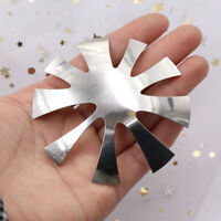 Waterproof Nail Cutter Plate French Manicure Nail Art Making Stainless Steel