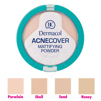 Dermacol ACNECOVER Mattifying Powder PROBLEMATIC SKIN All Skin Types AUTHENTIC