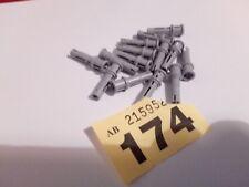LEGO 32054 technic long pin with stop bush X 14 LIGHT BLUISH GREY CITY CREATOR