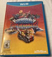 Skylanders Superchargers WiiU Video Game Only! (Nintendo Wii U, 2015)