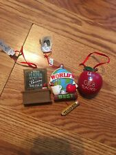 Lot Of 3 Brand New Teacher Ornaments Hallmark, Giftcraft Nwt!