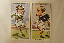 1931 Vintage Churchmans Sporting Celebrities Cards - Rugby - Roughead, Sugden