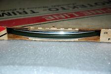 Vintage Cowles Protekto Trim 25-530-10 Green? 5/8 Fine Line Molding Chrome NOS