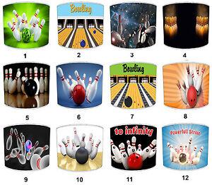 Ten-pin Bowling Lampshades, Ideal To Match ten pin Bowling Bowls & Wall Decals