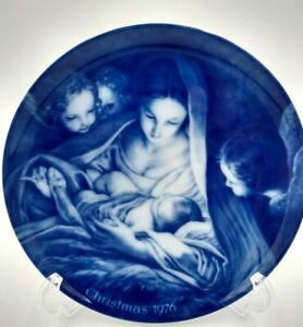 Vtg Kaiser Porcelain Christmas 1976 CHRIST THE SAVIOUR IS BORN Collectors Plate