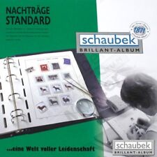 Schaubek 807K88N Nachtrag Tschechoslowakei 1988 Standard - Kleinbogen