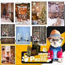 3x5/5x7FT Christmas Festival Photography Background Studio Photo Backdrops Decor